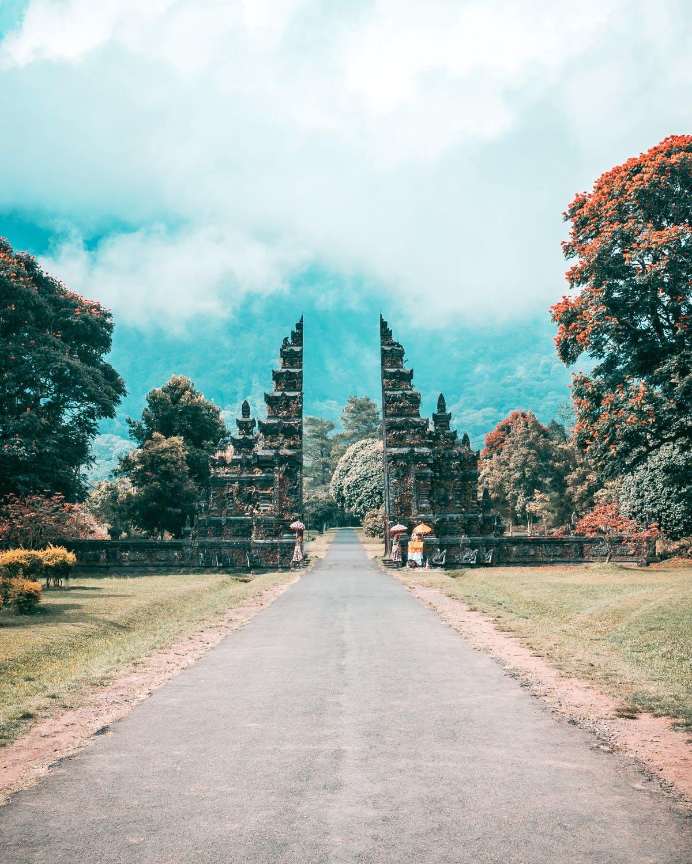 Bali Handara Iconic Gate