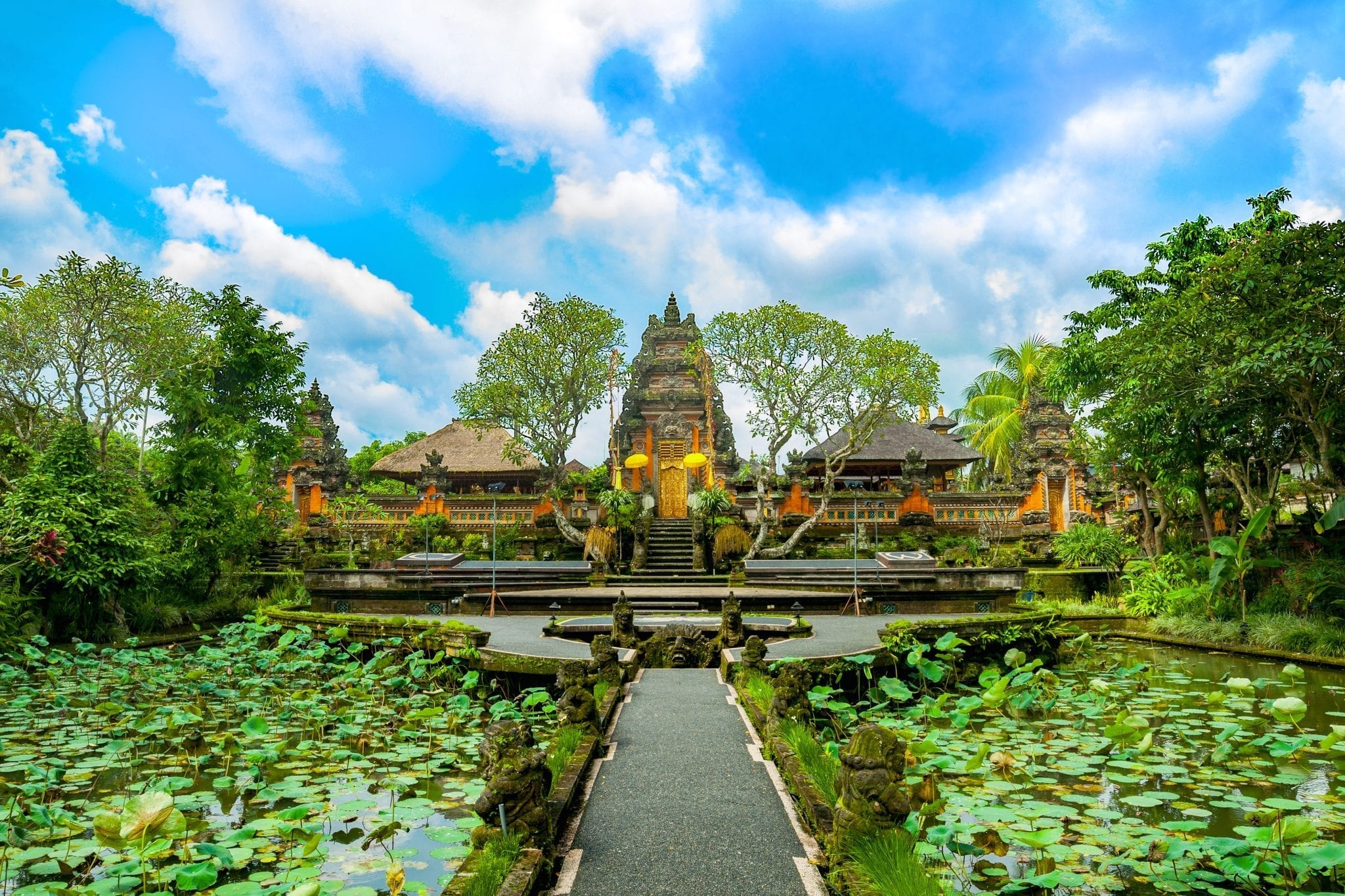 Pura Taman Saraswati Temple Ubud, Bali